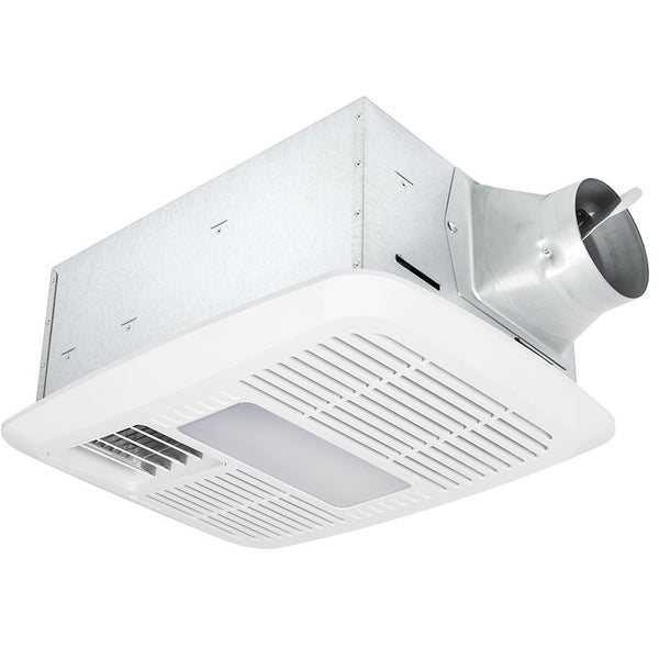 Delta Breez RAD110LED BreezRadiance 110 CFM Fan/LED Dimmable Light with Heater