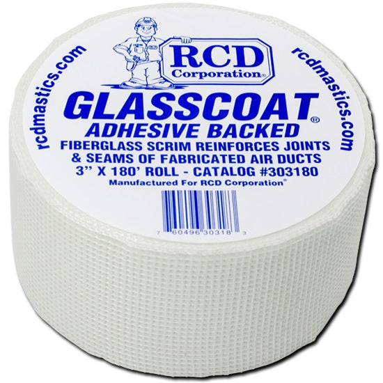 RCD GLASSCOAT® Adhesive Backed 3 inch x 180 ft Roll - 303180