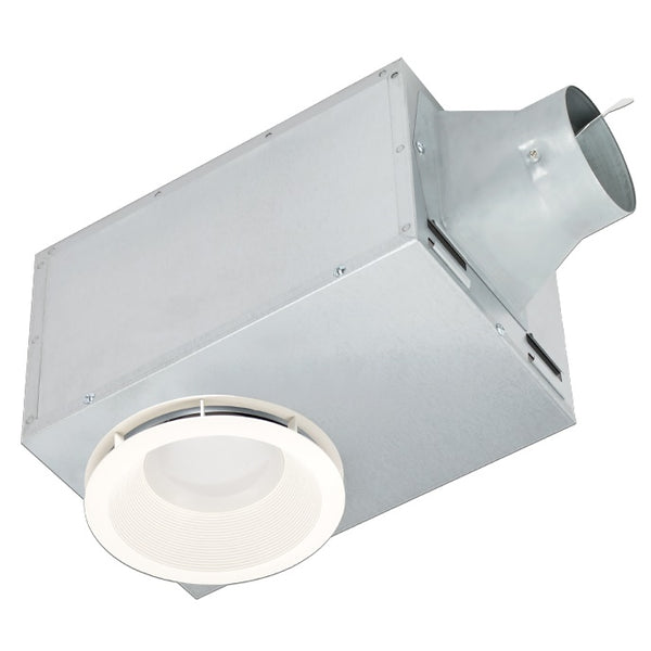 Delta Breez REC80LED 80 CFM Recessed Bathroom Exhaust Fan, 1.5 Sones with LED Light