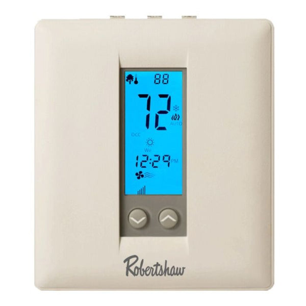 Robertshaw RS332N Premier Non-Programmable Thermostat, 3H/2C ? Gas ,Elec, Oil, Heat Pump