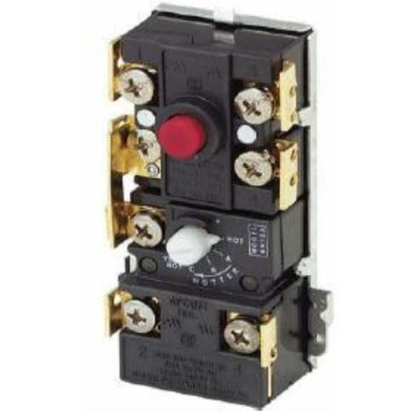 Robertshaw 5600-311 Electric Water Heating Thermostat, SPST/DPST High Limit, 120°F to 160°F, LIMIT 190°F