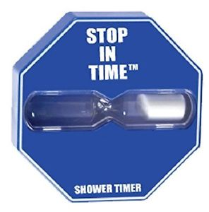Niagara STOP In Time® 5 minute Shower Timer (case/3) SS010-S