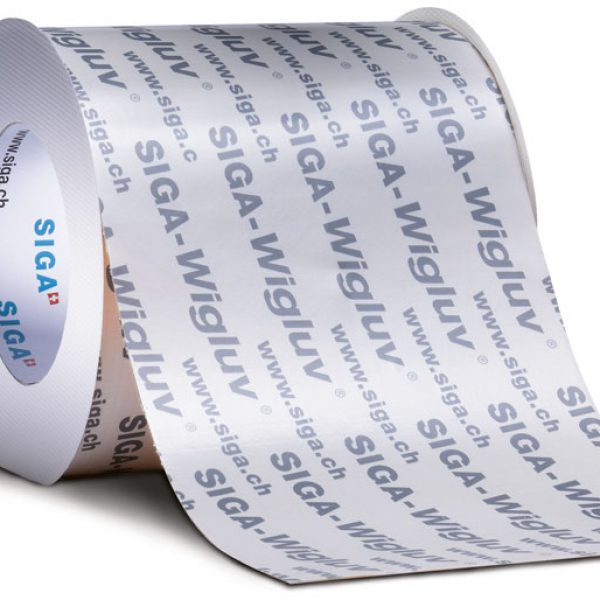 Siga Wigluv 300 mm x 25 m High-Performance Weather Sealing Tape - 7510-30025 (Case of 2)