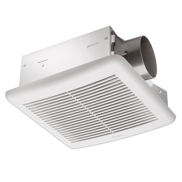 Delta Breez SLM70H Slim Series 70CFM Bathroom Exhaust Fan w/ Humidity Sensor