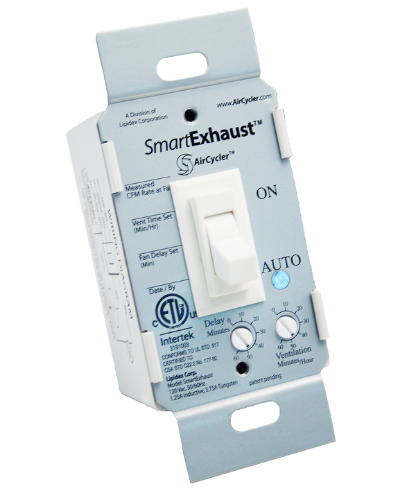 AirCycler SE1-W SmartExhaust Toggle Switch, White