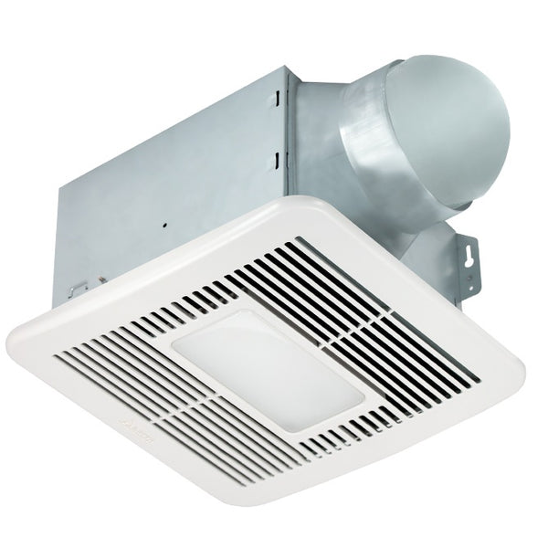 Delta Breez SMT150LED 150 CFM Bathroom Exhaust Fan with LED Light and Night Light