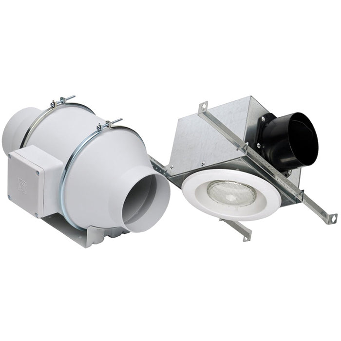 Soler & Palau Standard Lighted Exhaust Fan Kit Single Vent-KIT-TD100XL
