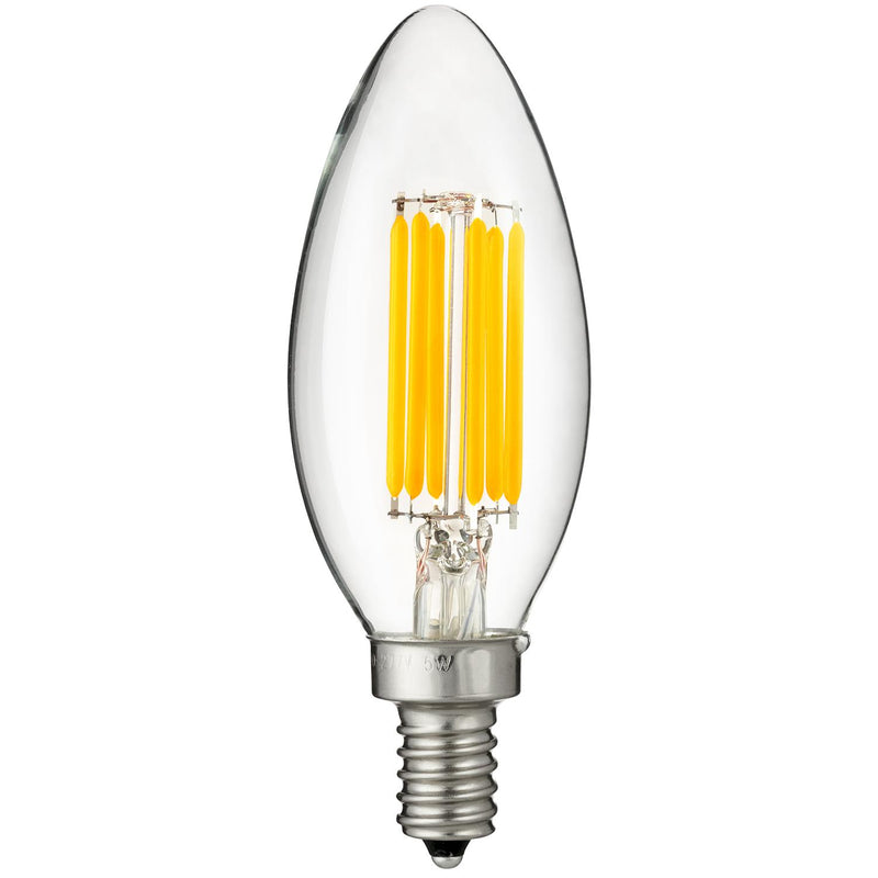 Sunlite LED 27K 5W Torpedo Tip Lamp Warm White, 24/Case - 80445-SU