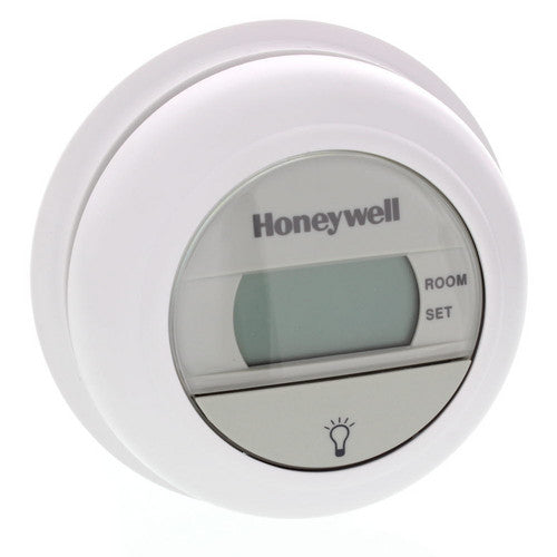 Honeywell T8775A1009 Premier White 1-Heat Stage Digital Round Thermostat