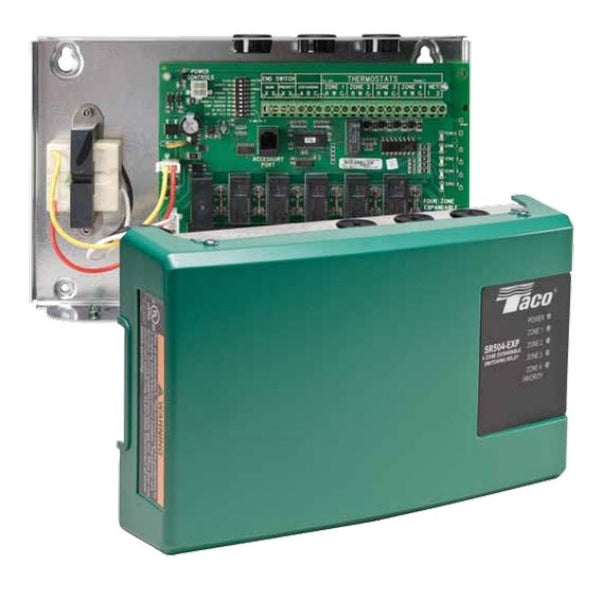 TACO SR502 2 Zone Switching Relay w/ Priority for Circulators