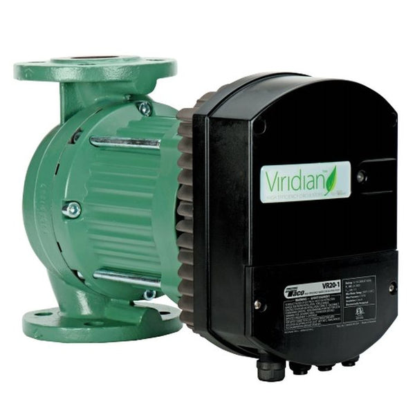 "TACO Viridian VR15 High Efficiency Circulator w/ 1-1/2"" Flange, 110-240V/1Ph"