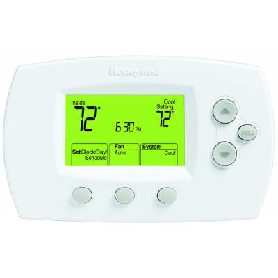 Honeywell TH6110D1005 Wireless FocusPRO Comfort System 5-1-1/5-2 Day Thermostat