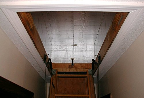"Therma-Dome Pull Down Attic Stair Cover 27"" x 10.5"" x 57"""