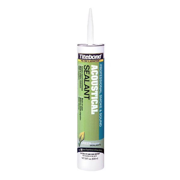 Titebond Acoustical Smoke & Sound Sealant 28 oz Tubes 12/Case - 2892