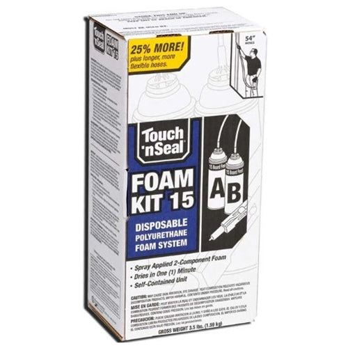 Touch n Seal 2 Part PUR Foam Kit 15 Board Feet - 15FR 4004520015