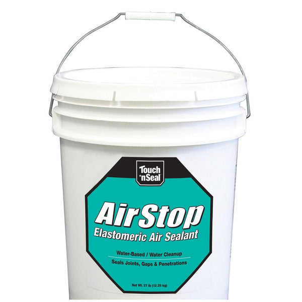 DAP Touch 'n Seal Airstop Elastomeric Air Sealant, 27 lbs Pail, Green