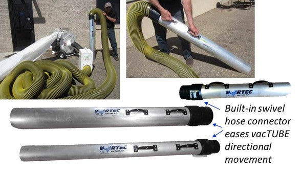 Intec Vortec 74000 CANNON Insulation Removal Vacuum with Electric Start Package