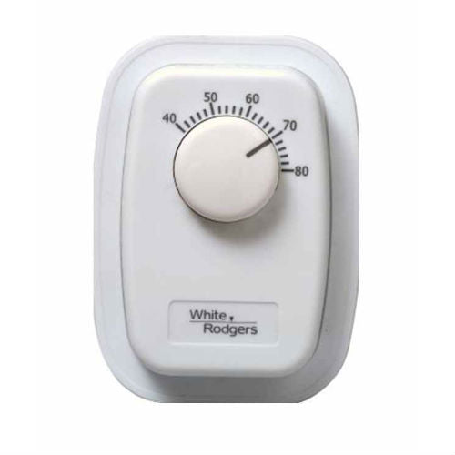 White Rodgers Bimetal Wall Thermostat - 1G66-641