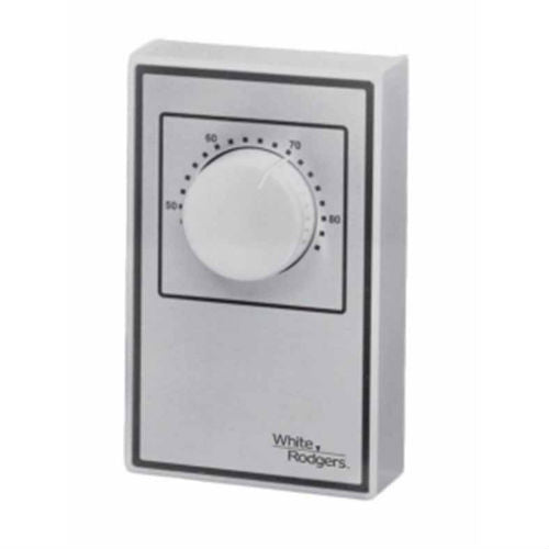 White Rodgers Line Voltage Wall Thermostat - 1A66W-641