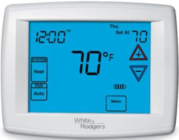 White-Rodgers Emerson Big Blue Touchscreen Thermostat - 1F97-1277
