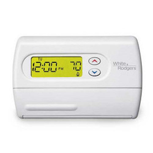 White-Rodgers 80 Series Non-Programmable Single Stage Thermostat - 1F86-344