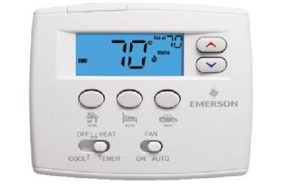White-Rodgers Emerson Blue Heat Pump Thermostat - 1F89EZ-0251