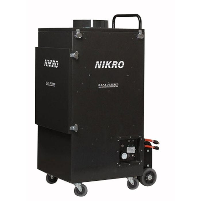 Nikro UR5000 Upright Commercial Air Duct Cleaning System (Dual Motor)