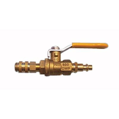 Nikro 861600 Ball Valve with Couplers
