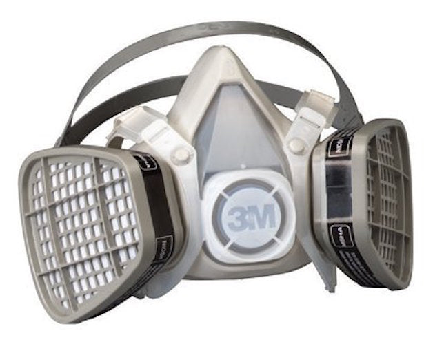 3M Half Facepiece Disposable Respirator Assembly, Large - 5301