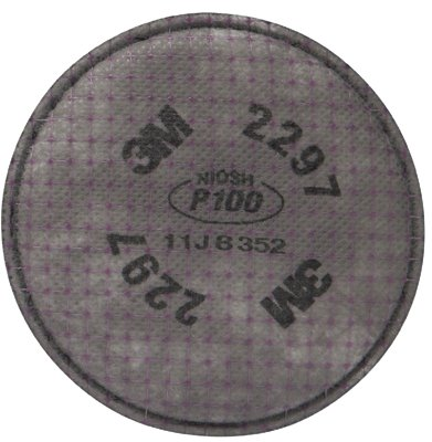 3M Adv. Particulate Filter 2297, P100 Respiratory Protection - 100/C