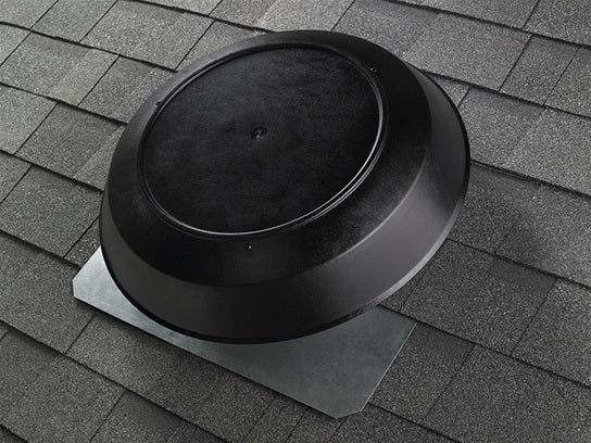 Broan NuTone 356BK Attic Ventilator, Black