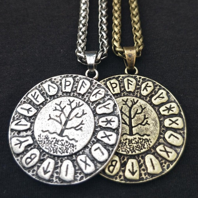 Collier Pendentif Yggdrasil