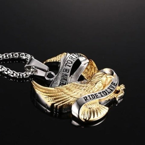 Collier Aigle Motard