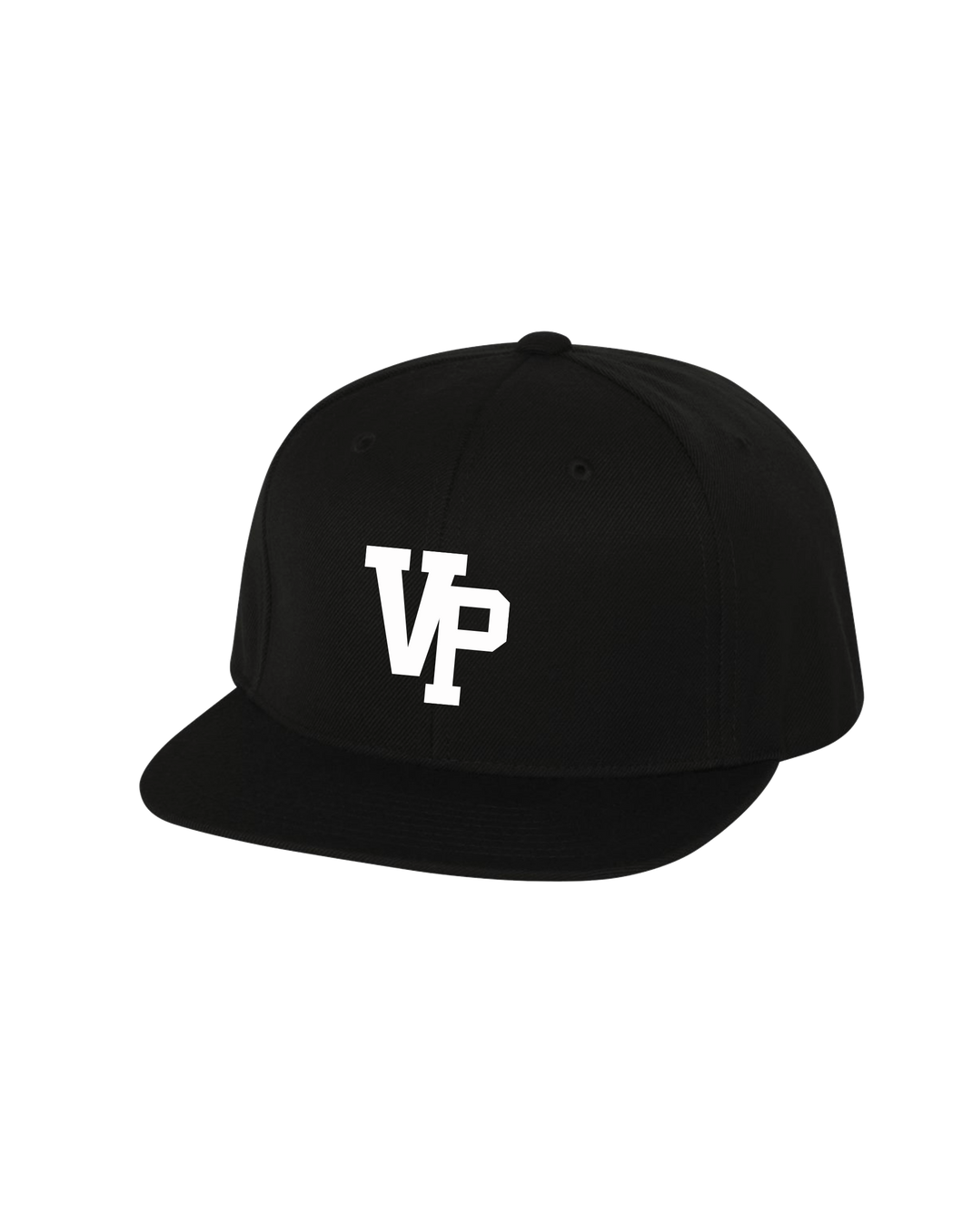 VPLL - Snapback - Black Hat *Raised Embroidery logo