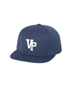 VPLL - Snapback - Navy Hat *Raised Embroidery logo