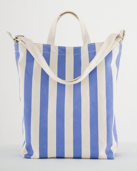 Duck Bag- Cornflower Stripe