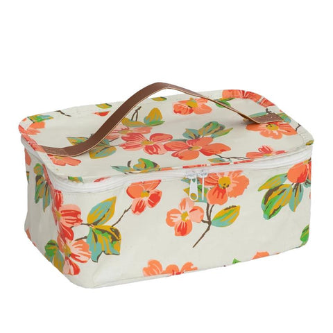 Society of Wanderers Elma Floral Toiletries Bag