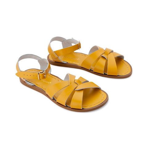 Saltwater Sandals Original Womens- Mustard