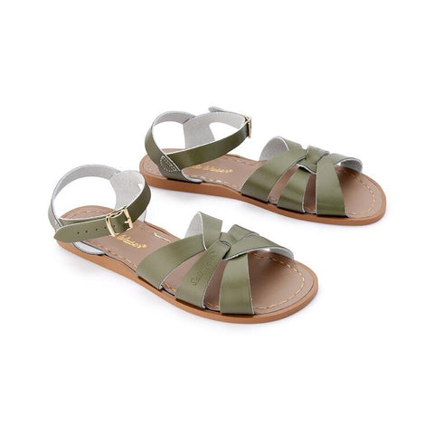 Saltwater Sandals Original Womens- Olive