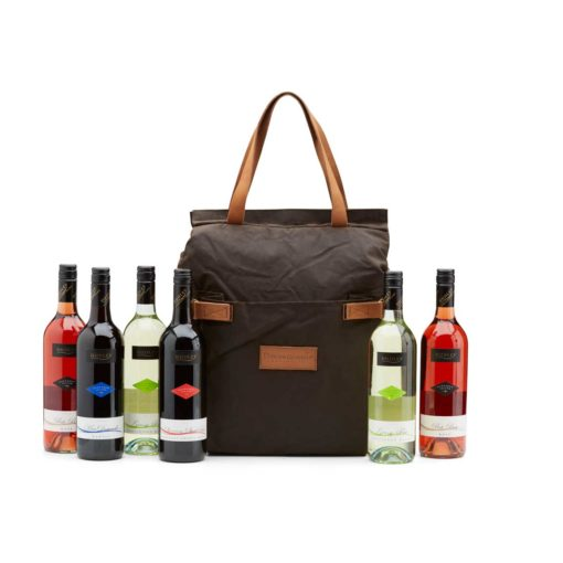 The Australian Cooler Bag 6 Bottle With Pouch