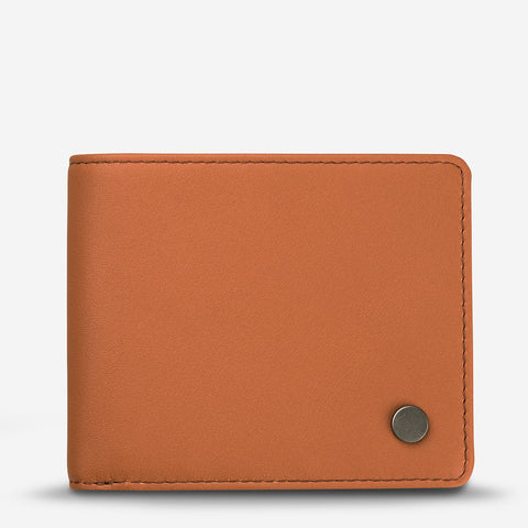 Leonard Camel Leather Men's Wallet