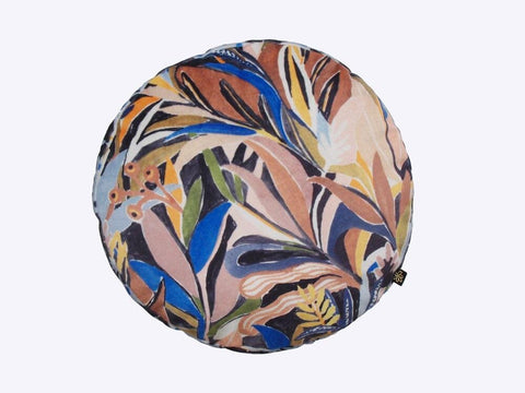Velvet Round Nightfall Cushion