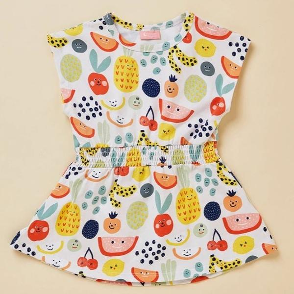 Fruit Tingle Short Sleeve Dress