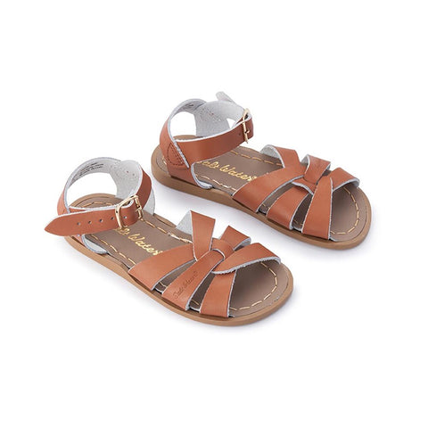 Saltwater Sandals Original Tan - Kids