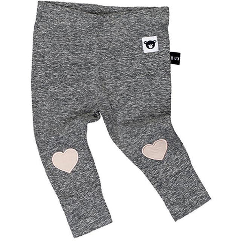 Heart Applique Skinny Leggings