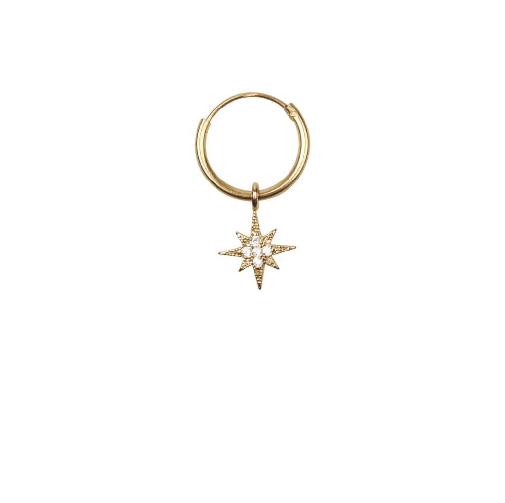 À La | Twinkle Diamond Star Earring (1pc)