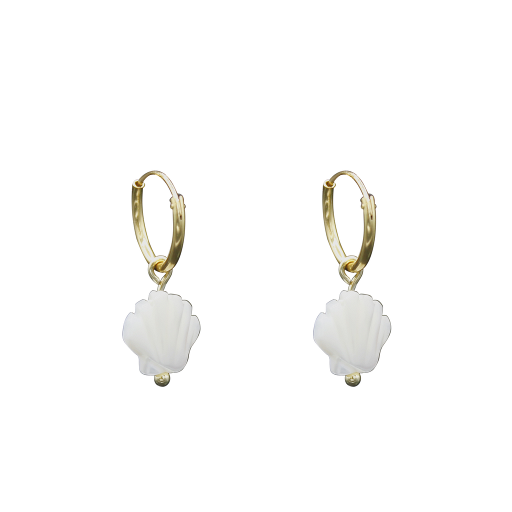 Shell Mother Of Pearl Earrings