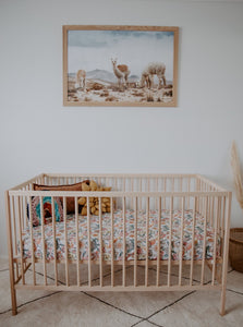 Australiana Fitted Cot Sheet