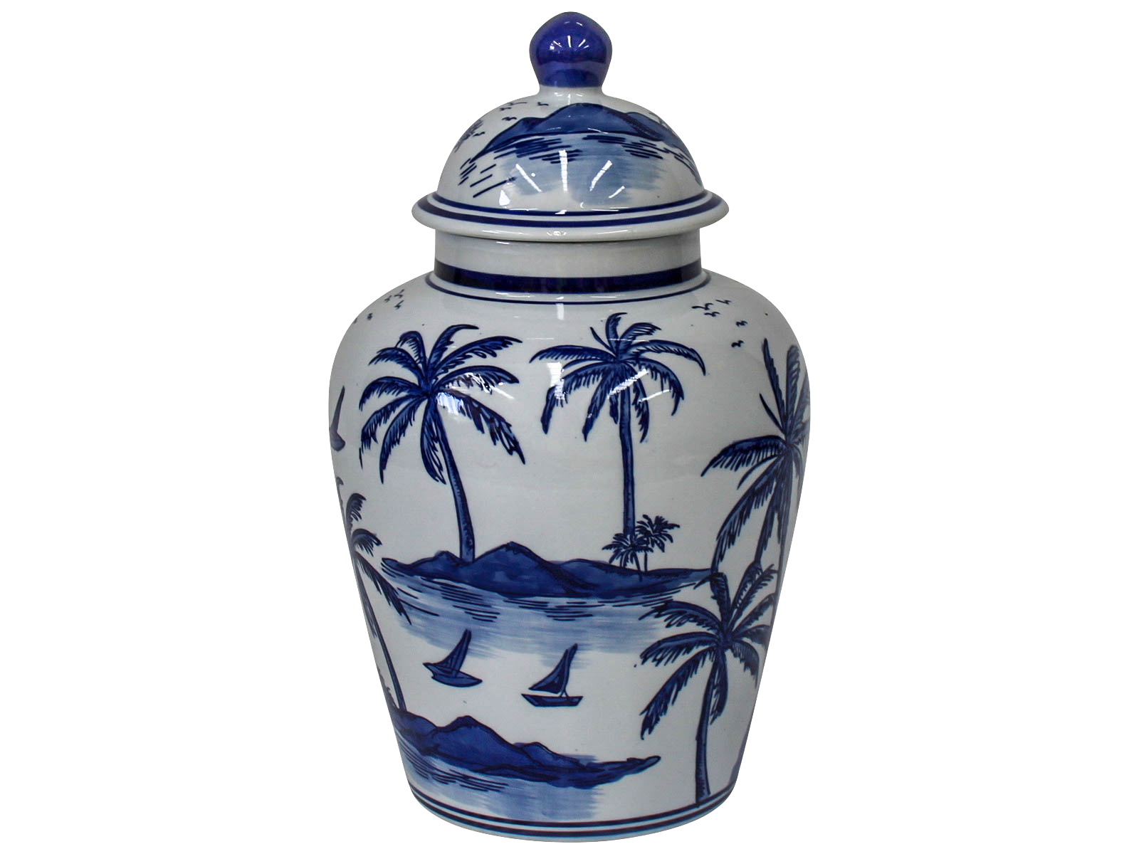 Palm Ginger Jar