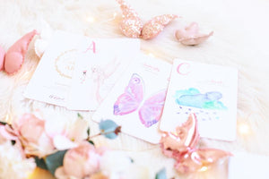 The Enchanting ABC Flash Cards